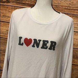 Wildfox Sweaters - Wildfox• Crewneck Loner Long Sleeve